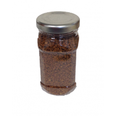 120 ML CLEAR ROUND JAR - 43MM NECK