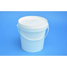 1.2 LITRE WHITE TAMPER EVIDENT TUB WITH LID