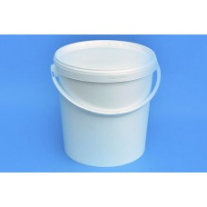 21 LITRE WHITE BUCKET and LID
