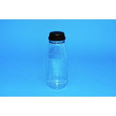 250 ML CLEAR ROUND PET BOTTLE