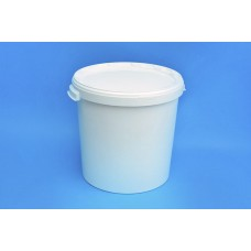 30 LITRE WHITE BUCKET and LID