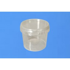 366 ML CLEAR TAMPER EVIDENT TUB and LID