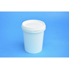 520 ML WHITE TAMPER EVIDENT TUB and LID