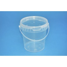 850 ML CLEAR TAMPER EVIDENT TUB and LID