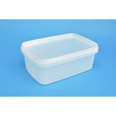 1200 ML NATURAL RECTANGULAR TUB