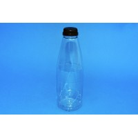 750 ML CLEAR ROUND PET BOTTLE