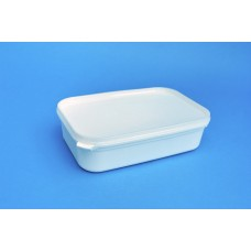780 ML WHITE RECTANGULAR TUB