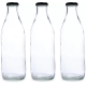 Glass Milk Bottles