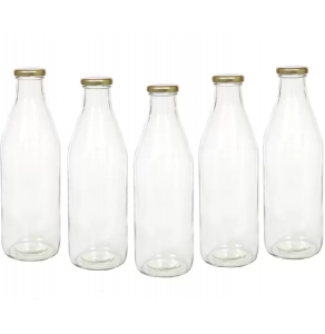 Glass Milk Bottles