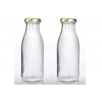 500ml Glass Milk Bottles with RTO cap x 24