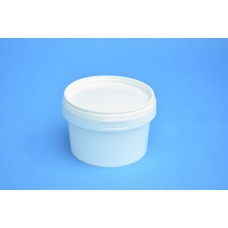 280 ML WHITE TAMPER EVIDENT TUB and LID