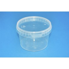 550 ML CLEAR TAMPER EVIDENT TUB and LID