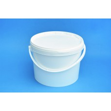11 LITRE WHITE BUCKET and LID