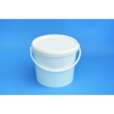 5 LITRE WHITE BUCKET and LID