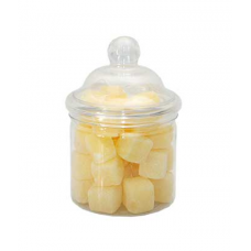 250 ML CLEAR ROUND JAR - 70MM NECK
