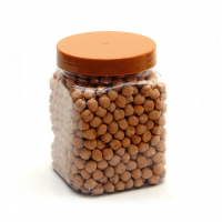 450 ML CLEAR SQUARE JAR - 70MM NECK