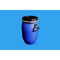 30 LITRE OPEN TOP BLUE POLYDRUM