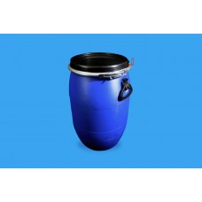 60 LITRE OPEN TOP BLUE POLYDRUM