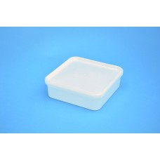 1.25 LITRE SQUARE TAMPER EVIDENT NATURAL TUB