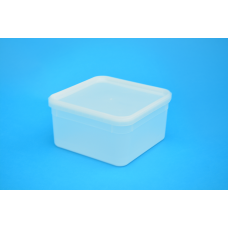 2.4 LITRE SQUARE TAMPER EVIDENT NATURAL TUB